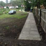 New Accessibility Footpath Lawton Rd