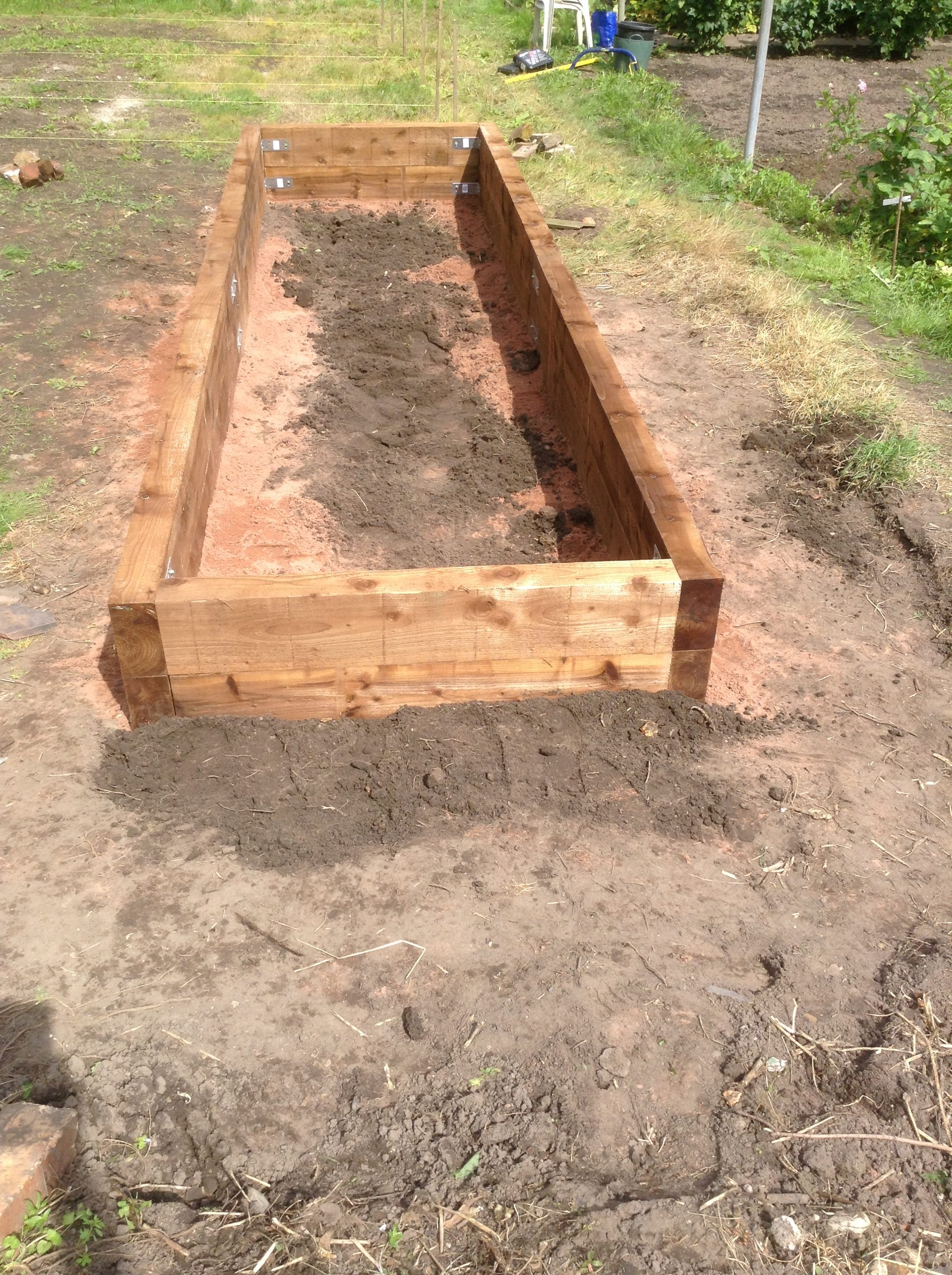 First Completed Raised Accessibility Bed