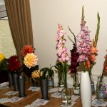Classes 2,3,4 & 5 Crysanths, Dahlias and Gladioli