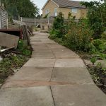 New Access Path to Raised Bed Cedar Avenue