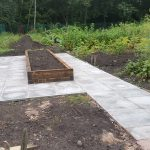 Completed Raised Bed at Coronation Avenue