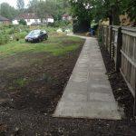 New Accessibility Footpath Lawton Rd